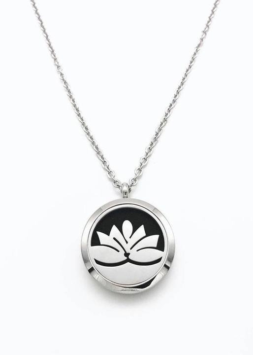 Necklace Diffuser Lotus Flower Zia Zensations